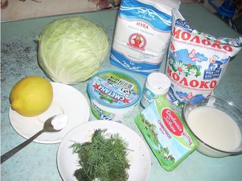 рецепт пирожков из свежей капусты