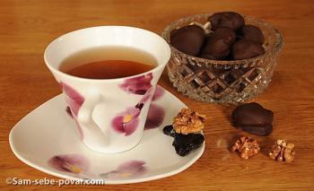 конфеты чернослив в шоколаде, рецепт с фото