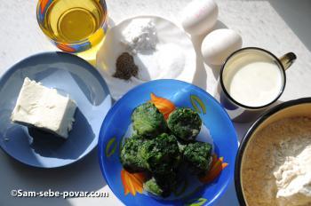 ингредиенты для маффинов, рецепт с фото