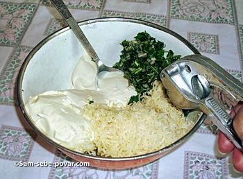 готовим соус для картофеля, пошаговое фото