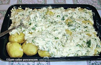пошаговое фото, укладываем картофель