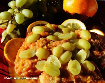 фото готовой курицы в медовом соусе