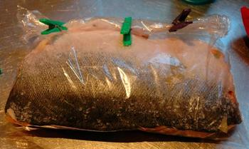 рецепт с фото засолки лосося