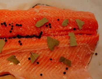 фото засолки красной рыбы