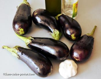 фото ингредиентов для маринованных баклажан