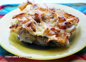 мясо по-французски, рецепт с фото