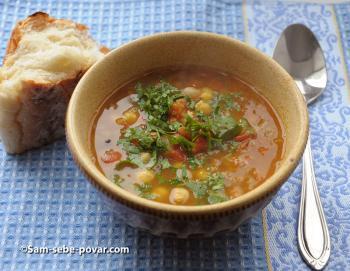 фото готовый суп по-мароккански