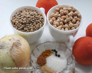 фото ингредиентов для марокканского супа