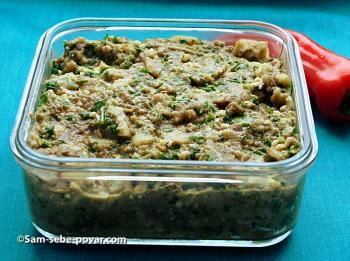печеные баклажаны, рецепт с фото