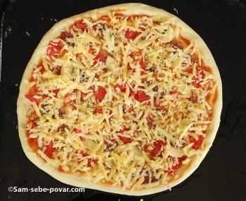 фото выпечки пиццы