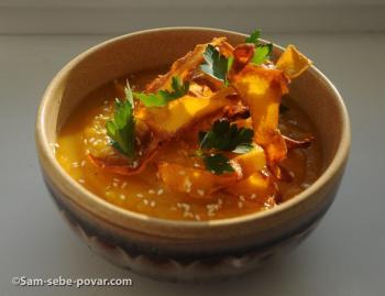 тыквенный суп рецепт с пошаговыми фото