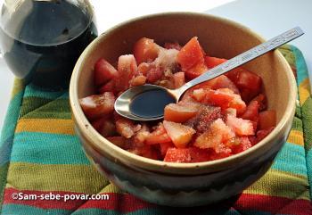 добавляем помидоры, фото