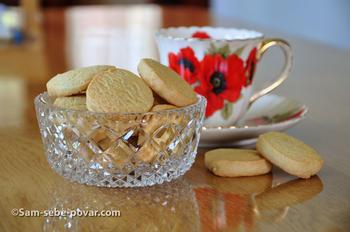 песочное печенье готово, пошаговое фото