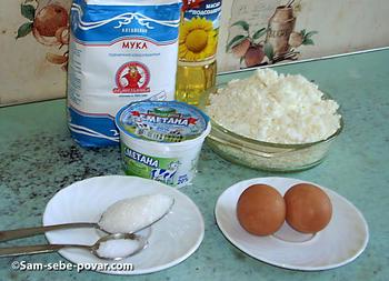 фото ингредиентов для сырников