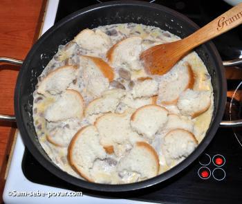 пошаговый рецепт с фото, добавляем хлеб