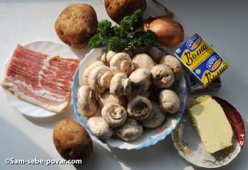 фото ингредиентов для супа из плавленных сырков