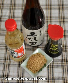 фото ингредиентов для соуса-терияки
