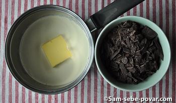 измельчаем шоколад, рецепт с пошаговыми фото