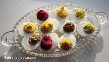 рецепты с фото яиц, фаршированных разными начинками